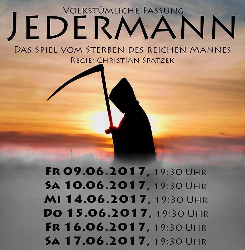 Karten-Vorverkauf Jedermann Theatergruppe Gols