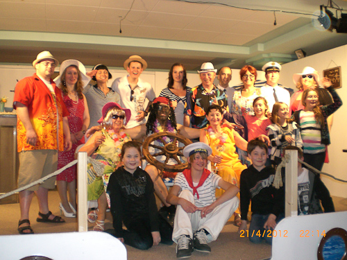 Theatergruppe Gols 2012 - Schiff Ahoi!